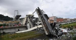 Γένοβα: Στους 39 οι νεκροί από την κατάρρευση της γέφυρας