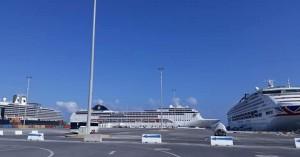 Τρία κρουαζιερόπλοια με 10.000 επιβάτες στο λιμάνι του Ηρακλείου σήμερα
