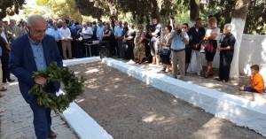 Ο Δήμαρχος Ηρακλείου στο ετήσιο μνημόσυνο των θυμάτων στο Σοκαρά