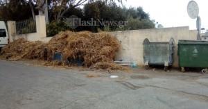 Έτοιμο προσάναμμα για μπουρλότο στα Περιβόλια Δήμου Χανίων (φωτο)