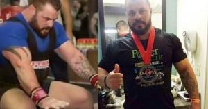 Ο Παντελής Σαπουνάκης εκπροσωπεί την Ελλάδα στο Olympia Pro Powerlifting