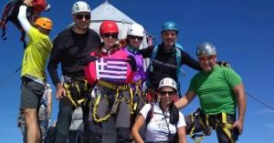Στην ψηλότερη κορυφή των Ιουλιανών Άλπεων μέλη του Ορειβατικού Συλ. Χανίων