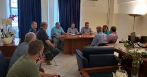 Συνάντηση Υφυπουργού με τη Νέα Ομοσπονδία Χοιροτροφικών Συλλόγων Ελλάδος