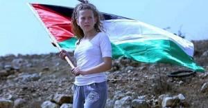 Η παλαιστίνια αγωνίστρια Αχέντ Ταμίμι στο