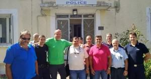 Η Ένωση Αστυνομικών Υπαλλήλων Χανίων στο Α.Τ. Καντάνου - Σελίνου