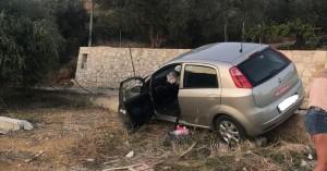 Χανιά: Αυτοκίνητο έφυγε από το δρόμο και