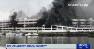 Ο άκυρος λόγος που άνδρας έκαψε ένα από τα μεγαλύτερα γκαράζ της Νέας Υόρκη