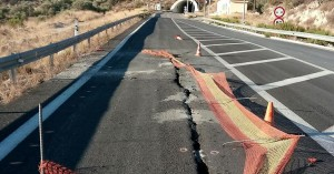 Καινούριος δρόμος στην Κρήτη άνοιξε στα δυο