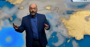 Για ενδεχόμενο Μεσογειακό Κυκλώνα προειδοποιεί ο Σάκης Αρναούτογλου