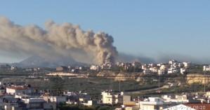 Στο σημείο της πυρκαγιάς στο Πανεπιστήμιο Ηρακλείου κλιμάκιο του ΚΚΕ