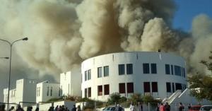 Μετρήσεις για να εκτιμηθεί η ρύπανση από τη φωτιά στο Πανεπιστήμιο Κρήτης