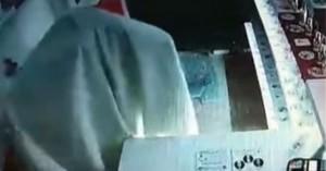 Απίστευτος διαρρήκτης ντυμένος... φάντασμα «ξάφρισε» κατάστημα