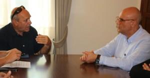 Συνάντηση Δημάρχου Χανίων με τον Δ/ντή του ΕΠΑΛ Ακρωτηρίου