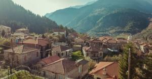 Το πανέμορφο χωριό της Ευρυτανίας