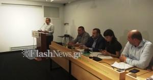 Το ΚΙΝ.ΑΛ. Κρήτης εισηγείται την στήριξη του Σταύρου Αρναουτάκη