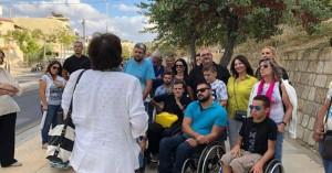 Ξενάγηση στα Ενετικά Τείχη του Ηρακλείου οργάνωσε η ΝΟΔΕ Ηρακλείου