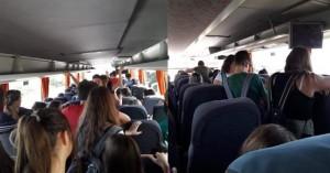 Άκρως επικίνδυνη και παράνομη μεταφορά μαθητών στα Χανιά (φωτο)