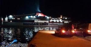 Σούδα: Αποχαιρέτησαν τον νεοσύλλεκτο και το πλοίο ανταπέδωσε τον χαιρετισμό
