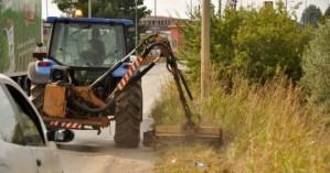Καθαρισμός τάφρων & πρανών στην Περιφερειακή Ενότητα Ρεθύμνης