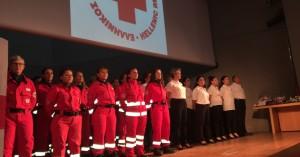 Ορκίστηκαν οι νέοι εθελοντές του Ερυθρού Σταυρού (φωτο)