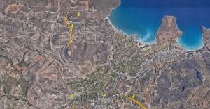 Το πρόγραμμα ασφαλτοστρώσεων στα δημοτικά διαμερίσματα του Αγίου Νικολάου