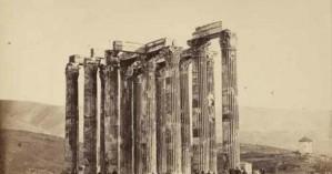 Ποιος έχτισε καλύβα πάνω στους Στύλους του Ολυμπίου Διός;