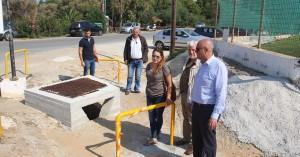 Σε εξέλιξη το αντιπλημμυρικό έργο στο πάρκο των Αγίων Αποστόλων