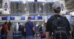 2,2 εκατ. επιβάτες ταξίδεψαν από ελληνικά αεροδρόμια μέσα τον Ιανουάριο