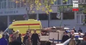 Από εκρηκτικό μηχανισμό πολύνεκρη έκρηξη σε σχολή στην Κριμαία