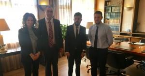 Συνάντηση Δ.Σ. Δικηγορικού Συλλόγου Λασιθίου με Υπουργό Δικαιοσύνης