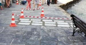Προχειρότητες και μπαλώματα στην «βιτρίνα» της πόλης των Χανίων (φωτο)