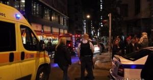 Επίθεση με μολότοφ στο Α.Τ. Ομονοίας - Στο νοσοκομείο δυο αστυνομικοί