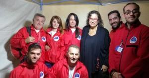 Οι Ηρακλειώτες διασώστες και η Μαρία Φαραντούρη