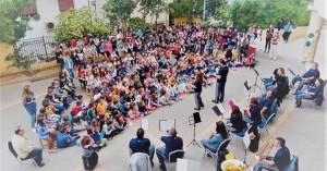 Δίπλα στα παιδιά των σχολείων η Φιλαρμονική Ηρακλείου