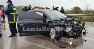 Σοκαριστικές εικόνες από το τροχαίο με το τραυματισμένο βρέφος (φωτο)
