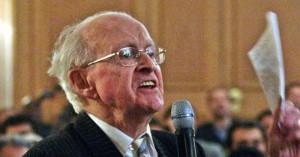 Ο αρνητής του Ολοκαυτώματος Ρομπέρ Φορισόν πέθανε σε ηλικία 89 ετών