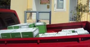 Μητρόπολη Κισάμου & Σελίνου: Διανομή φωτοτυπικού χαρτιού στα σχολεία