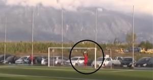 Απίθανο γκολ στη Μεσσηνία από το κέντρο του γηπέδου (βίντεο)
