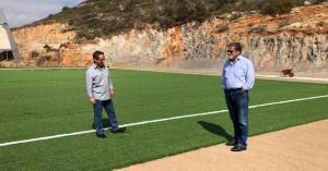 Σε τροχιά υλοποίησης οι αθλητικές υποδομές στον Δήμο Αγίου Νικολάου