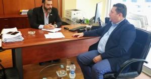 Επαφές του Γιάννη Μαστοράκη για τα σχολεία του Δήμου Χερσονήσου