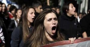 Μαθητικός ξεσηκωμός στα Χανιά ενάντια στο νέο νομοσχέδιο του Υπουργείου