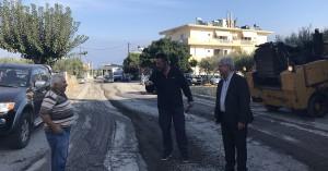 Ξεκίνησαν οι εργασίες στην οδό Θριάμβου στο Γάζι