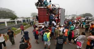 Πάνω από 4.000 μετανάστες έχουν φθάσει στην Τιχουάνα, στα σύνορα με τις ΗΠΑ