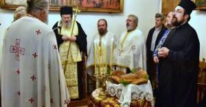 Θυρανοίξια παρεκκλησίου από τον Κυδωνίας και Αποκορώνου κ.κ. Δαμασκηνό