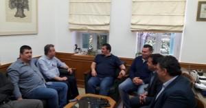 Συνάντηση με Πύρρο Δήμα και κάλεσμα για μεγάλη διοργάνωση στην Κρήτη