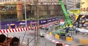 Τρομακτικό ατύχημα σε αγώνα της Formula 3 - Έφυγε σαν πύραυλος στον αέρα