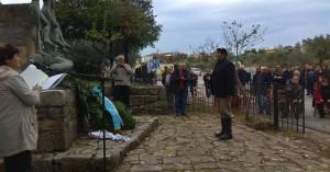 Eκδήλωση μνήμης και τιμής στη Παναγιά Κεραμειών