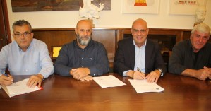 Υπογραφή σύμβασης για ανάπλαση οδικού δικτύου & της πλατείας του Μουζουρά