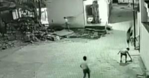 Τύχη βουνό για 11χρονο που έπεσε από τον 3ο όροφο στην Ινδία