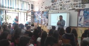 Ενημέρωση για κλιματική αλλαγή & πλημμύρες σε σχολεία της Ν.Κυδωνίας
